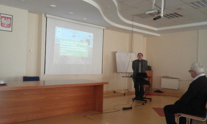 Marek Krysztoforski - specjalista ds. Rolnictwa Ekologicznego i Programów Rolnośrodowiskowych