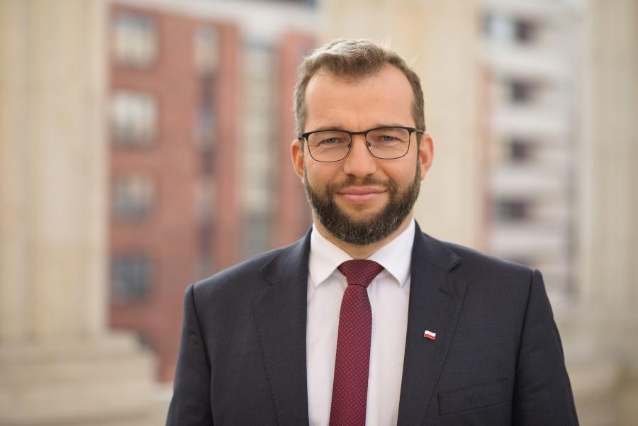 Minister Grzegorz Puda