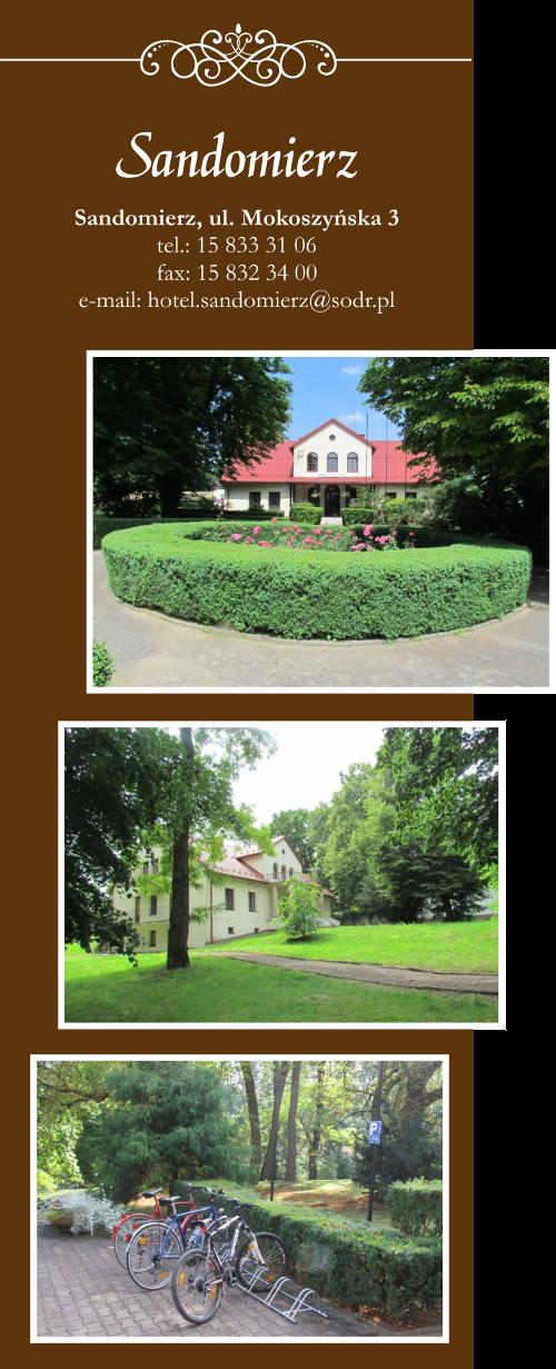 Hotel Świętokrzyskiego Ośrodka Doradztwa Rolniczego w Sandomierzu